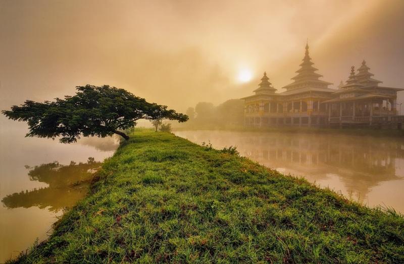 mist in myanmar