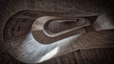 caleidoscoop van trappenhuis